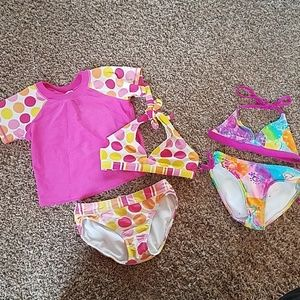 Other - Girl's size 6 swimsuit lot